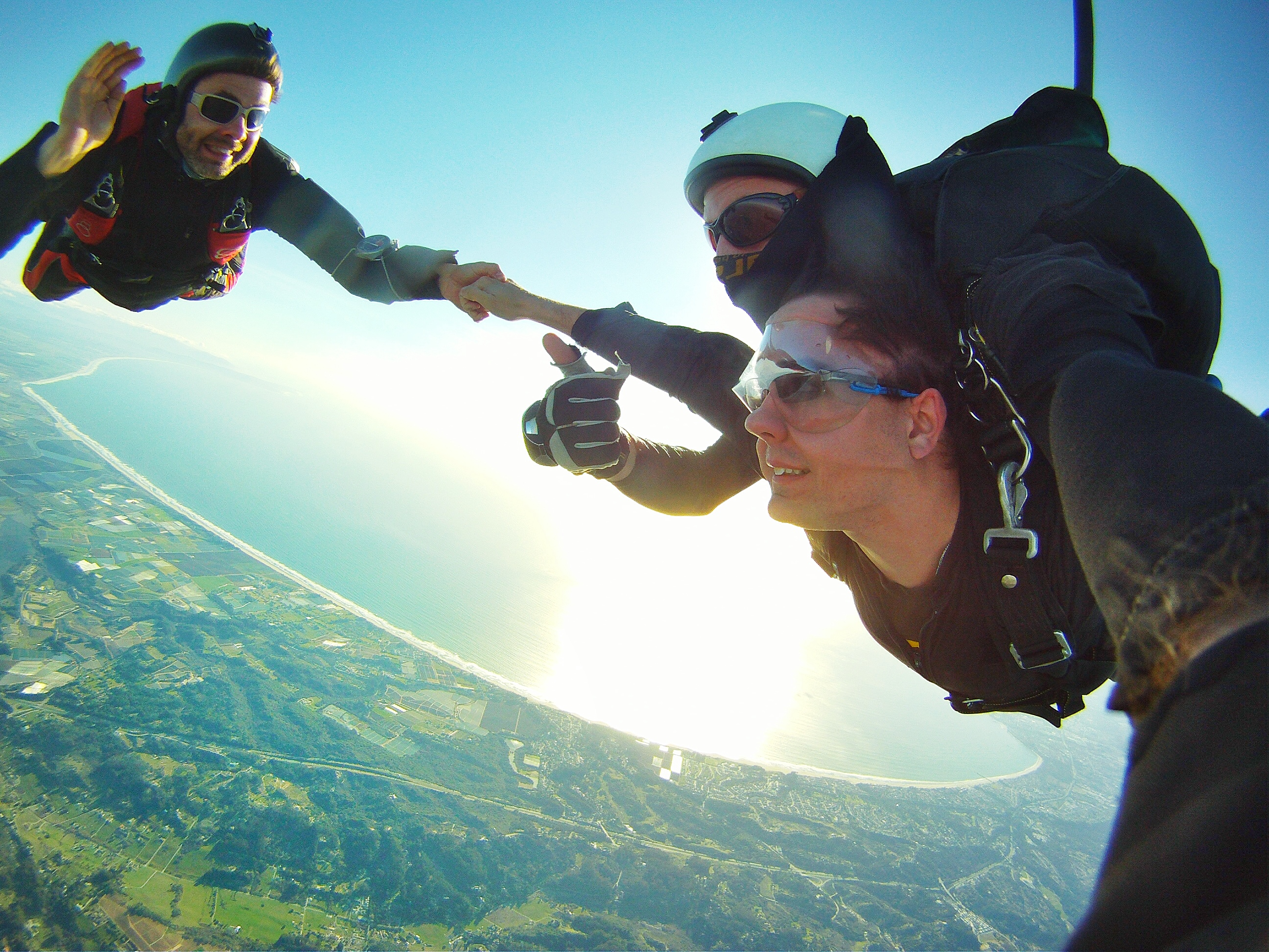 Tandem Skydive over the Bay